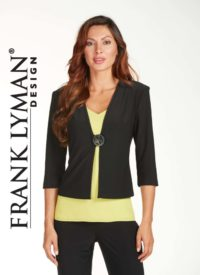 Frank Lyman three quarter sleeve jacket,